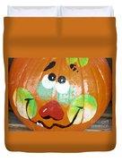 Painted Pumpkin 3 Duvet Cover
