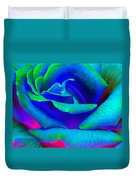 Painted Rose 2 Duvet Cover