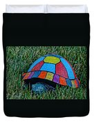 Painted Turtle Sprinkler Duvet Cover