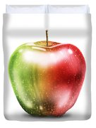 Painting Of Apple Duvet Cover