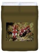 Pair Of Miamira Magnifica Nudibranch Duvet Cover