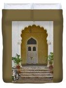 Palace Door Duvet Cover