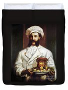 Palace Hotel Chef Duvet Cover