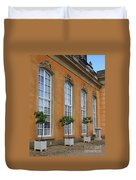 Palace Windows And Topiaries Duvet Cover