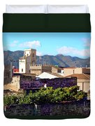 Palermo View Duvet Cover