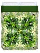 Palm Kaleidoscope 6 Duvet Cover