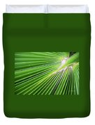 Palm Tree Frond Duvet Cover
