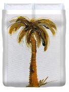 South Carolina Palm Tree Duvet Cover