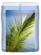 Palm Tree Duvet Cover