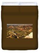 Palo Duro Canyon Texas Duvet Cover