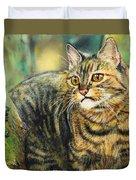 Palo Verde Kitty Duvet Cover