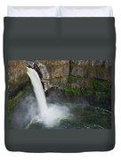 Palouse Falls In Spring Duvet Cover