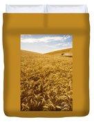 Palouse Wheat Duvet Cover