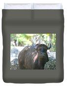 Pam The Bull Duvet Cover