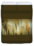 Pampas Grass Panoramic Duvet Cover