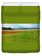 Panorama Valley Farm Duvet Cover