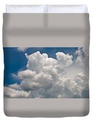 Panoramic Clouds Number 1 Duvet Cover