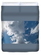 Panoramic Clouds Number 1o Duvet Cover