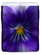 Pansy Abstract Duvet Cover