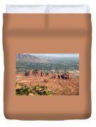 Papago Park Arizona Duvet Cover