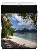Paradise Island Duvet Cover by Adrian Evans
