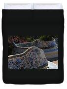 Parc Guell Barcelona Duvet Cover