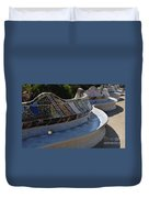 Parc Guell Spain Duvet Cover