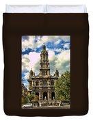 Paris Church Duvet Cover