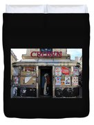 Paris Diner Duvet Cover