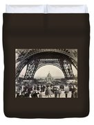 Paris Exposition, 1889 Duvet Cover
