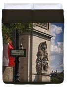 Paris Frame Of Mind Duvet Cover