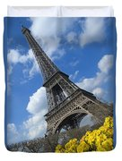 Paris, France Duvet Cover