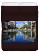 Paris La Defense 3 Duvet Cover