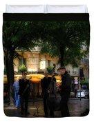 Paris Musicians Duvet Cover