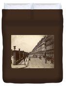 Paris: Rue De Rivoli, C1900 Duvet Cover