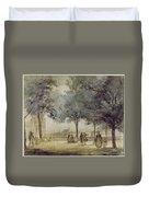 Paris: Tuilerie Gardens Duvet Cover