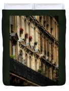 Paris Windows Duvet Cover by Andrew Fare
