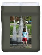 Childhood Waterpark Dreams Duvet Cover