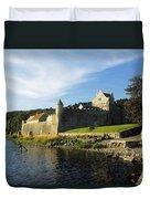Parkes Castle, Co Leitrim, Ireland Duvet Cover