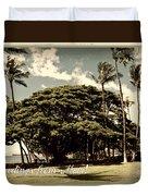 Parkside Postcard Duvet Cover