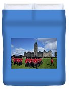Parliament Building Ottawa Canada  Duvet Cover by Garry Gay