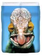 Parsons Chameleon Calumma Parsonii Duvet Cover