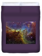 Part Of The Ic1805 Heart Nebula Duvet Cover