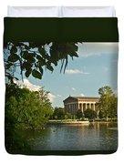Parthenon At Nashville Tennessee 10 Duvet Cover by Douglas Barnett