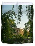 Parthenon At Nashville Tennessee 12 Duvet Cover