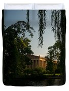 Parthenon At Nashville Tennessee 14 Duvet Cover
