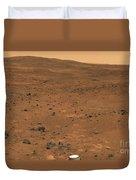 Partial Seminole Panorama Of Mars Duvet Cover