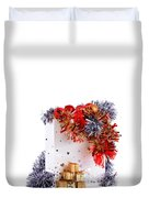 Party Decorations In A Bag Duvet Cover