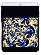 Party Time Abstract Duvet Cover