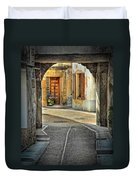 Passageway And Arch In Provence Duvet Cover